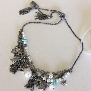 NWT Chaps Charm Slider Bracelet